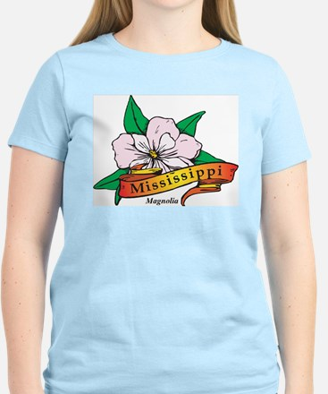 Mississippi Women's Pink T-Shirt