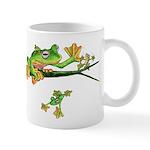 Musky Flying Frog Mugs