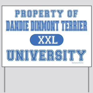 Dandie Dinmont U. Yard Sign