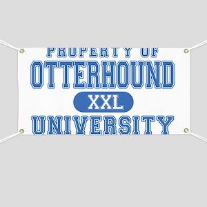 Otterhound University Banner