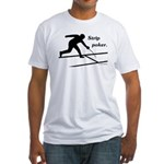 Strip Poker Fitted T-Shirt
