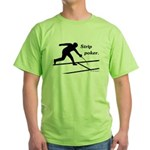 Strip Poker Green T-Shirt