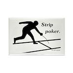 Strip Poker Rectangle Magnet (10 pack)