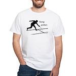 Strip Poker White T-Shirt