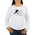 Strip Poker Women's Long Sleeve T-Shirt