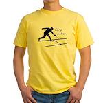 Strip Poker Yellow T-Shirt
