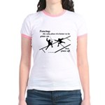 Piste On Jr. Ringer T-Shirt