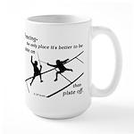 Piste On Large Mug