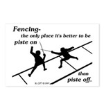 Piste On Postcards (Package of 8)