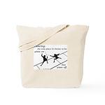 Piste On Tote Bag