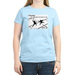 Piste On Women's Light T-Shirt