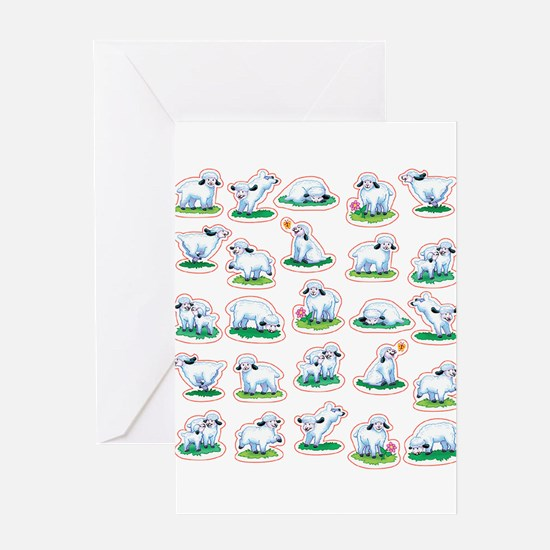 Unique Lamb Greeting Card