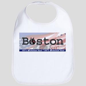 Boston Terrier All American Bib