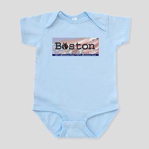 Boston Terrier All American Infant Creeper