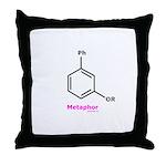 Molecularshirts.com Metaphor Throw Pillow