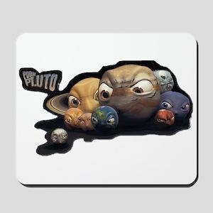 Poor Pluto Mousepad