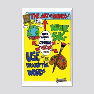 The Art of Business Mini Poster Print