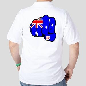 Bali Suicide Bombing Australian Fist Golf Shirt