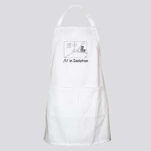 L in Isolation BBQ Apron