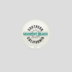 Newport Beach California Mini Button