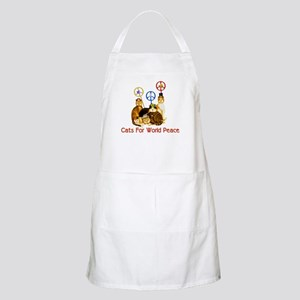 World Peace Cats BBQ Apron