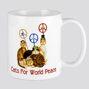 World Peace Cats Mug