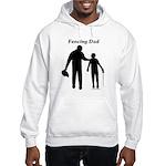 Fencing Dad Hooded Sweatshirt