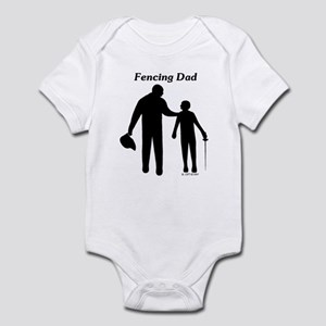 Fencing Dad Infant Bodysuit
