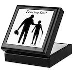 Fencing Dad Keepsake Box