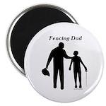 Fencing Dad Magnet