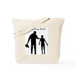 Fencing Dad Tote Bag