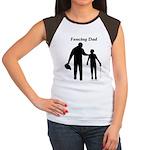 Fencing Dad Women's Cap Sleeve T-Shirt