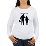 Fencing Dad Women's Long Sleeve T-Shirt