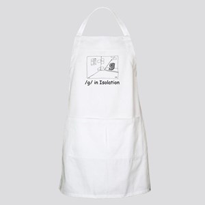 G in isolation BBQ Apron