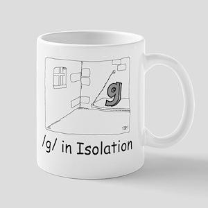 G in isolation Mug