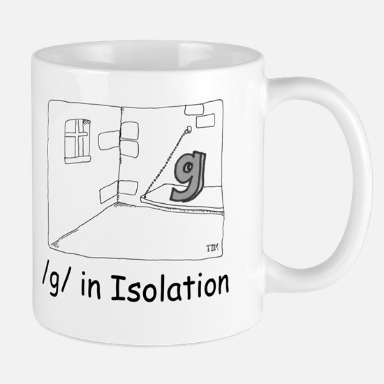 G in isolation Mug
