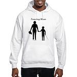 Fencing Mom Hooded Sweatshirt