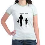 Fencing Mom Jr. Ringer T-Shirt