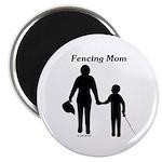 Fencing Mom Magnet