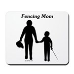 Fencing Mom Mousepad