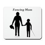 Fencing Mom Mousepad