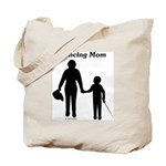 Fencing Mom Tote Bag