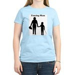 Fencing Mom Women's Light T-Shirt
