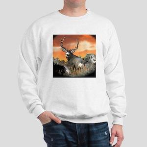 Trophy buck sunset Sweatshirt