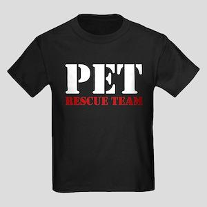 Pet Rescue Team Kids Dark T-Shirt