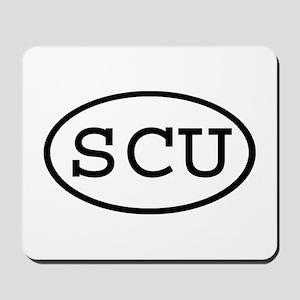 SCU Oval Mousepad