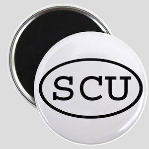 SCU Oval Magnet