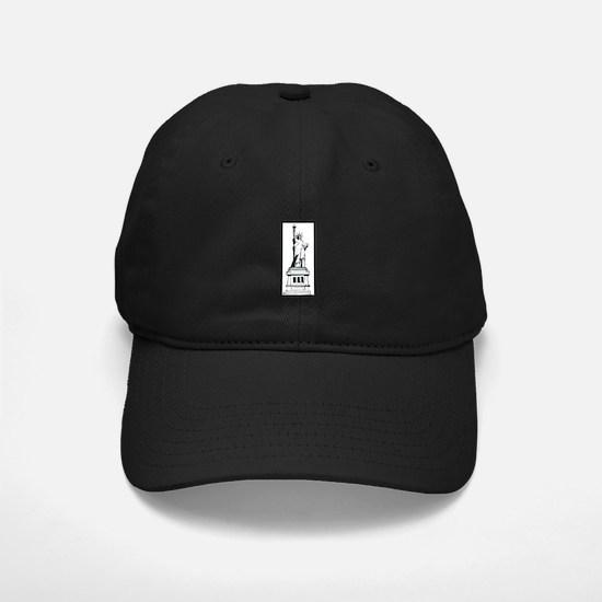 Hand Drawn Statue Of Liberty Baseball Hat