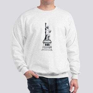 Hand Drawn Statue Of Liberty Sweatshirt
