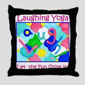 Let the Fun Shine IN Throw Pillow